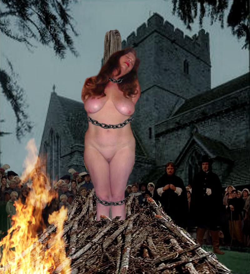Burning women