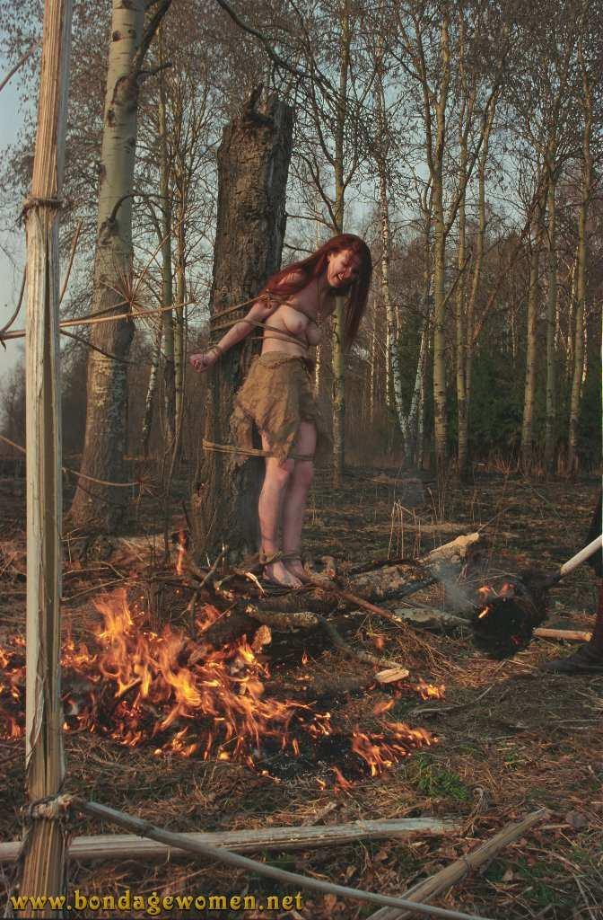 Bdsm burning at the stake